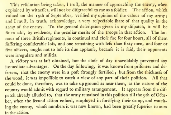Burgoyne The State of the Expedition from Canada pdf page 34 of 248