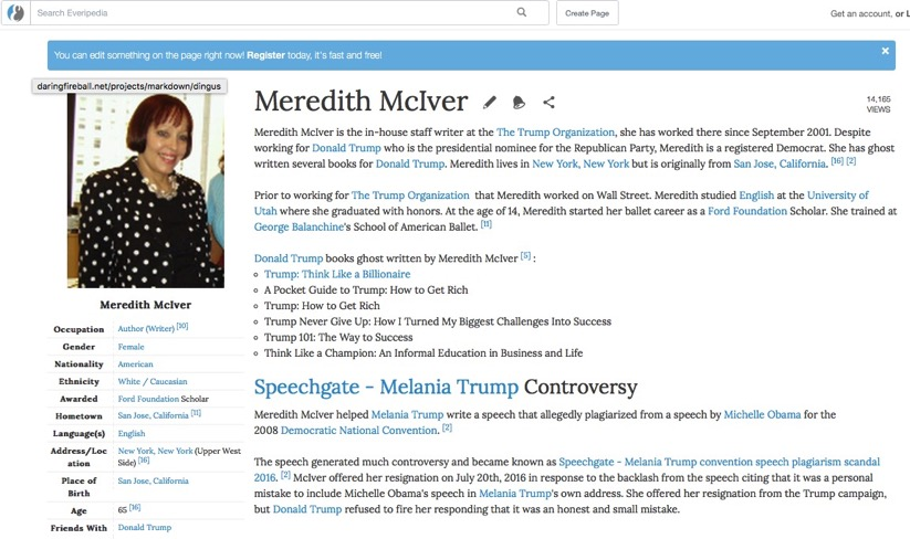 Meredith McIver Wiki Bio Everipedia the encyclopedia of everything