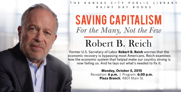 Robert reich saving capitalism Google Search