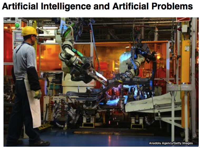 Artificial Intelligence and Artificial Problems Fresh at Project Syndicate