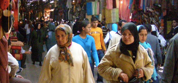 The Souk of Marrakech