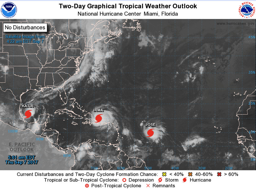Atlantic 2 Day Graphical Tropical Weather Outlook