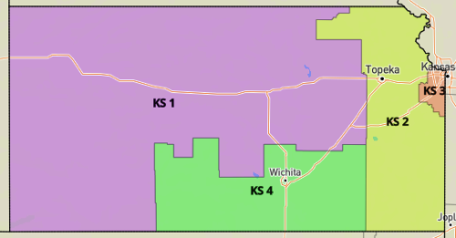Kansas Congressional Districts