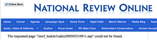 Page not found National Review Online