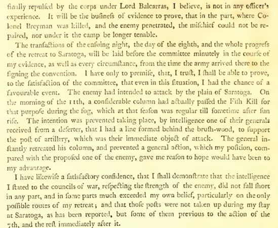 Burgoyne The State of the Expedition from Canada pdf page 36 of 248