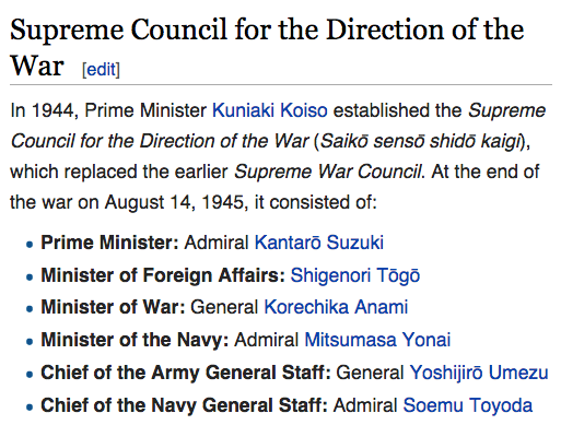 Supreme War Council Japan Wikipedia the free encyclopedia