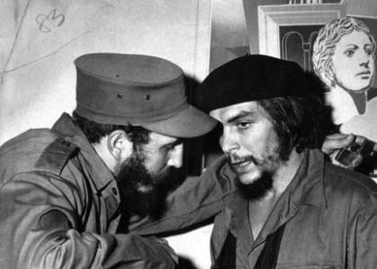 Che Guevara w Fidel Castro Political Guerilla Leaders Cuba Cuban Revolution eBay