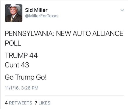 Millerfortexas Twitter Search