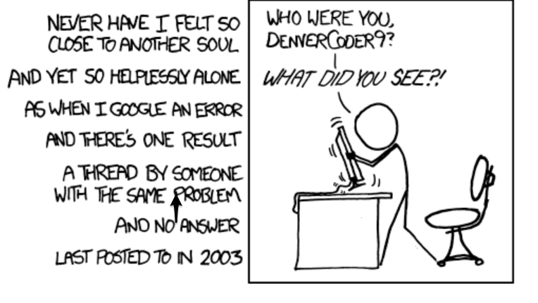 Xkcd things going wrong