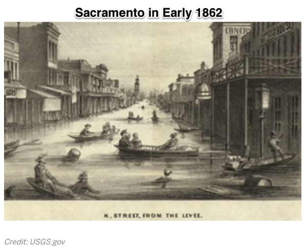 California Megaflood Lessons from a Forgotten Catastrophe Scientific American