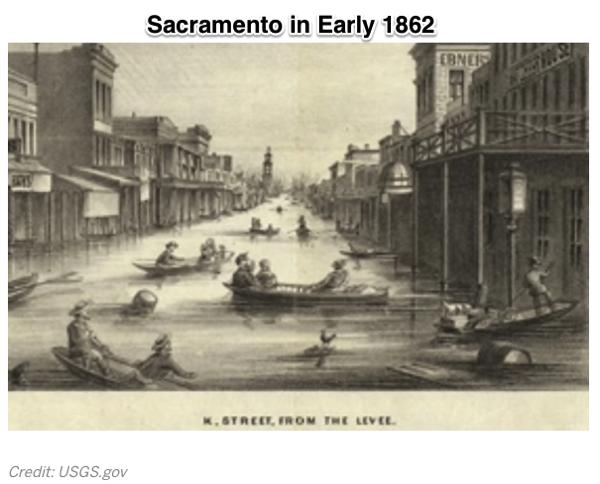 California Megaflood Lessons from a Forgotten Catastrophe Scientific American
