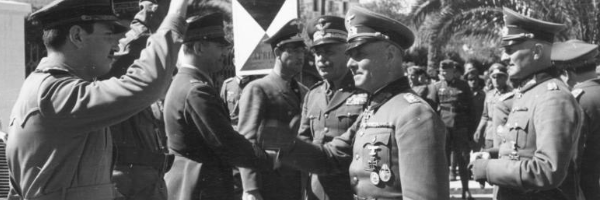 This week in the War 10 16 February 1941 Erwin Rommel arrives in North Africa Second by Second