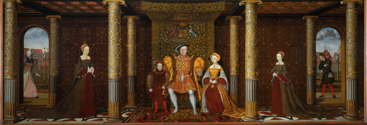 British School 16th century The Family of Henry VIII