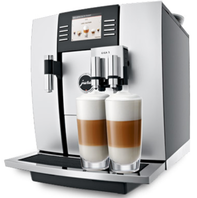 GIGA 5 JURA Coffee Machines Specialities Latte Macchiato Cappuccino Espresso and Coffee