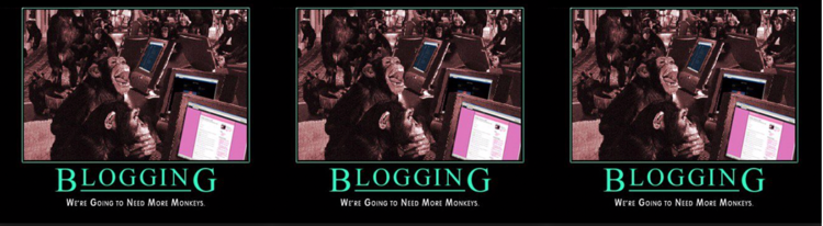 Preview of Blogging What to Expect Here