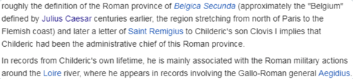 2 Matthew Martin on Twitter It doesn t usually get spelled out this way but the father of Clovis the first french king seems to have been a kind of Roman governor https t co xfhgPnx3V0 Twitter