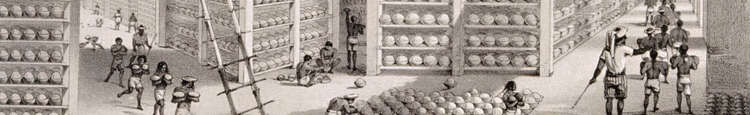 A busy stacking room in the opium factory at Patna India L Wellcome V0019154 First Opium War Wikipedia