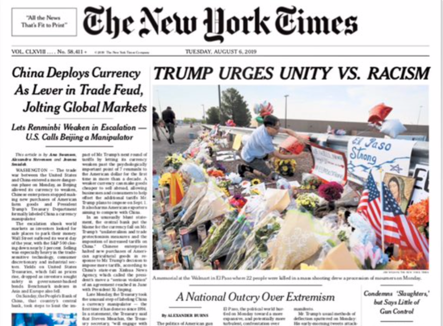 Moral Fault Attaches to All Those Who Associate with the New York Times