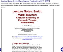 Notes-smith-marx-keynes