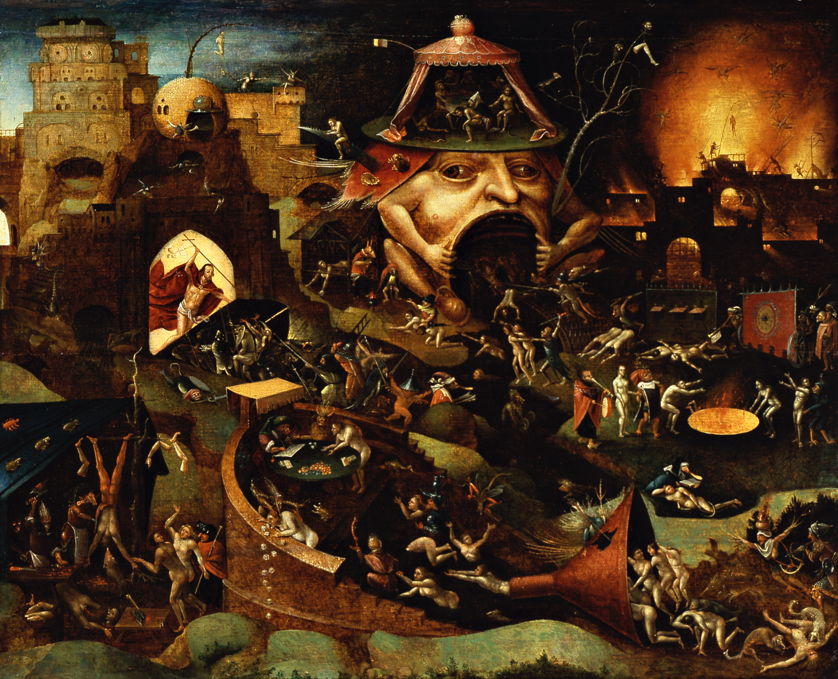 Bosch school christ in limbo