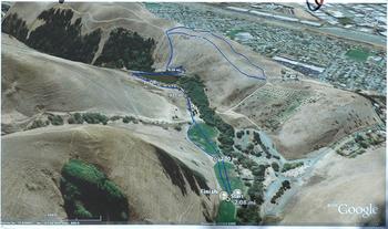 Hayward, California Cross Country Course